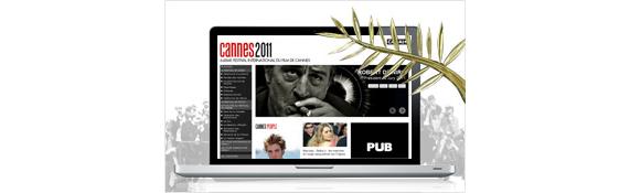 le site du Festival de Cannes de Canal+