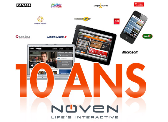 L'agence Noven fête ses 10 ans
