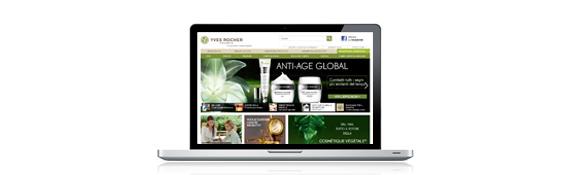 Sites multicanaux internationaux Yves Rocher
