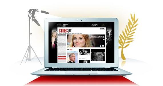 L'agence Noven réalise le site du Festival de Cannes de Canal+