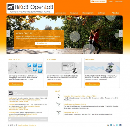 Home Page OpenLab