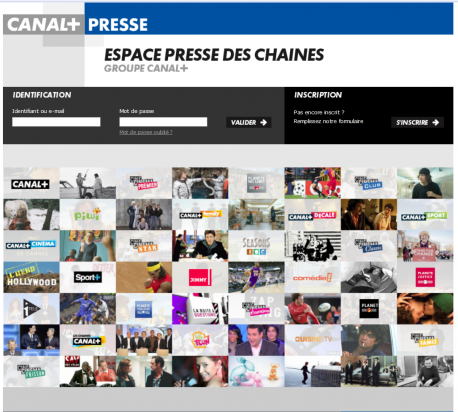 Home Page Canal+ Presse