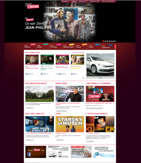 Home page Cinecinema