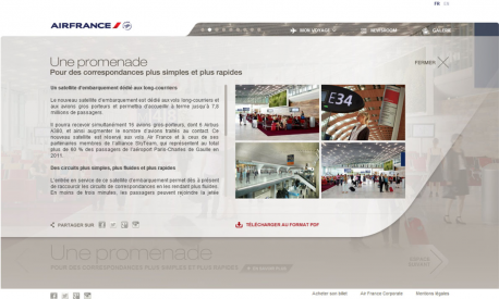 Homepage - Air France S4