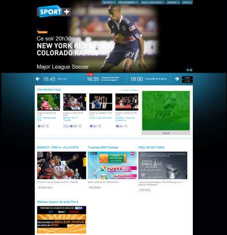 Home Page Sport+