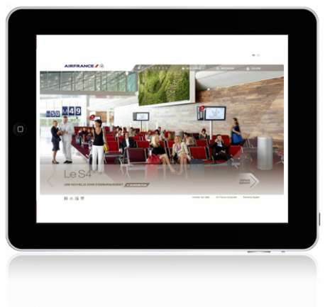 Tablette Air France S4