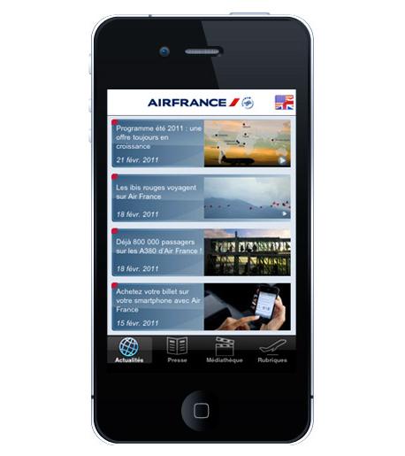 application iPhone AF