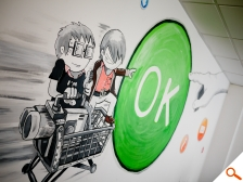 Notre fresque murale
